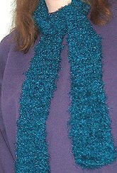 FREE Crocheted Boa Scarf