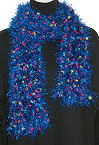 Free Fancy Fur Fashion Scarf to Crochet