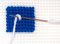 French Knot Step 1