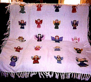 Angels Afghan Picture