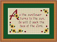 Seek the Lord Sunflower Sampler