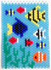 Beaded Tropical Fish Banner