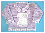 Crochet Honey Bunny Sweater