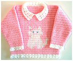 Crochet Kitten Sweater