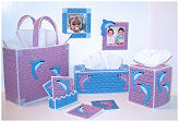 Dolphin Dreams Decor Set