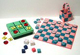 Plastic Canvas Games Set
