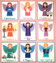 9 Plastic Canvas Holy Spirit Angels