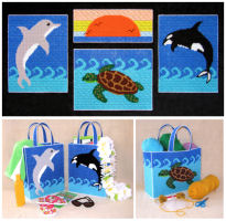 Plastic Canvas Sea Life Collection