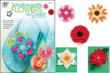 Interchangeable Flowers to Crochet Book