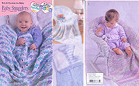 Crochet and Knit Baby Snugglers Booklet