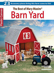 Plastic Canvas Barn Yard Book