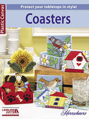 Plastic Canvas Coasters Book