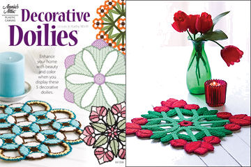 Plastic Canvas Decorative Doilies