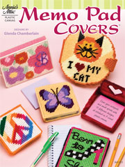 Plastic Canvas Memo Pad Covers