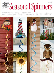Plastic Canvas Seasonal Spinners Book