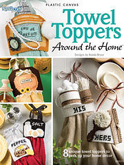 Towel Toppers Plastic Canvas Book