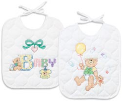 B is for Baby Stamped Bibs Kit