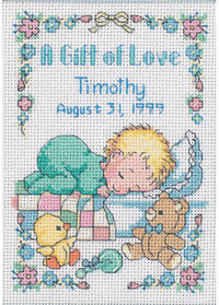 Gift of Love Cross Stitch Kit