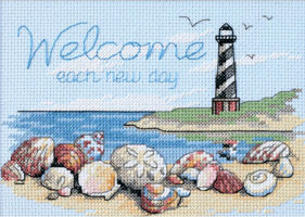Welcome Each Day Cross Stitch Kit