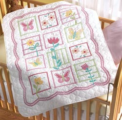 Sophie Stamped Quilt Kit