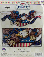 Plastic Canvas Jim Shore Eagle Kit