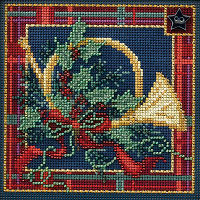 French Horn Mill Hill Cross Stitch Kit