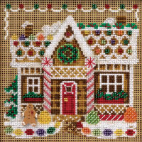 Gingerbread House Mill Hill Cross Stitch Kit