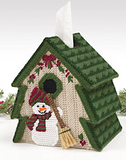 Plastic Canvas Mary Maxim Tree Tissue Topper Kit