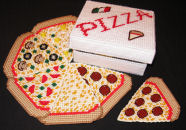 Pizza Coasters