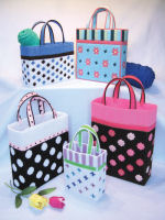 Plastic Canvas Trendy Totes